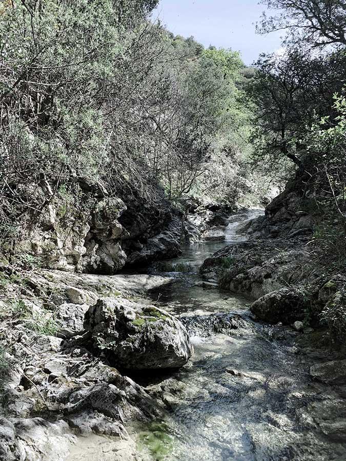 rivière sacrée en drôme pour un rituel de reliance au féminin sacré