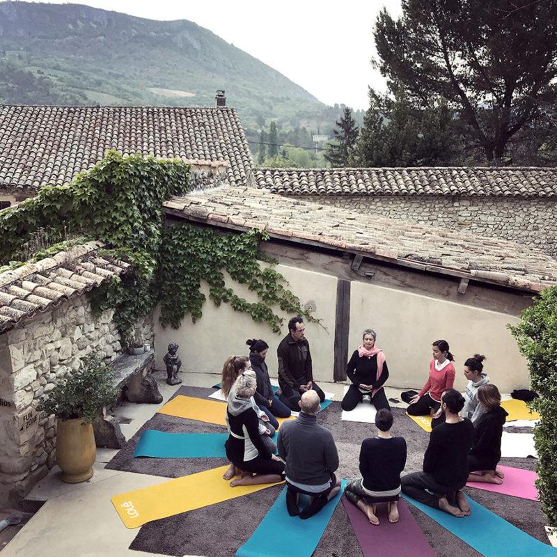 yoga séjour rando détox bien être naturopathie en drôme par wacohe