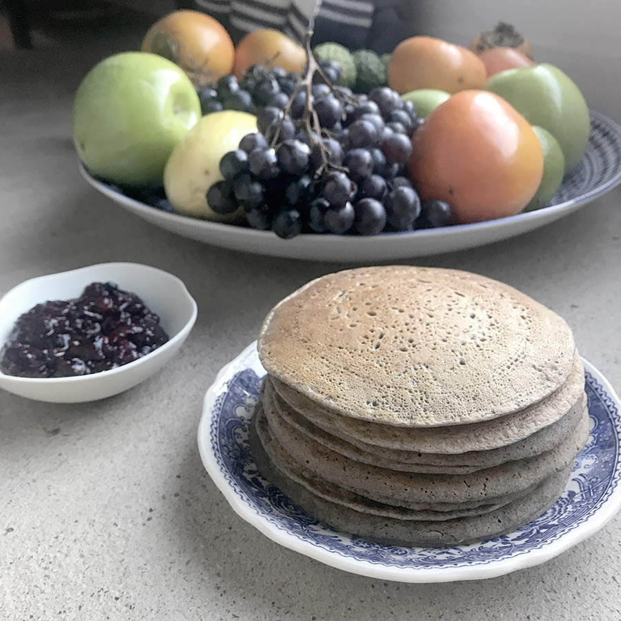 pancake noglu sans lactose vegan healthy naturopathie wacohe