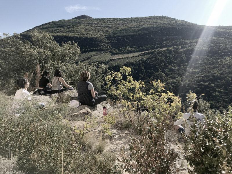 méditation en pleine nature en Drôme provençale lors teambuilding evoleum par Wacohe