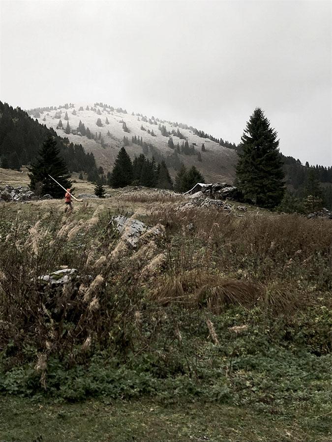 Cor des Alpes traditions séjour retour aux sources en cabane en haute-savoie de Wacohe