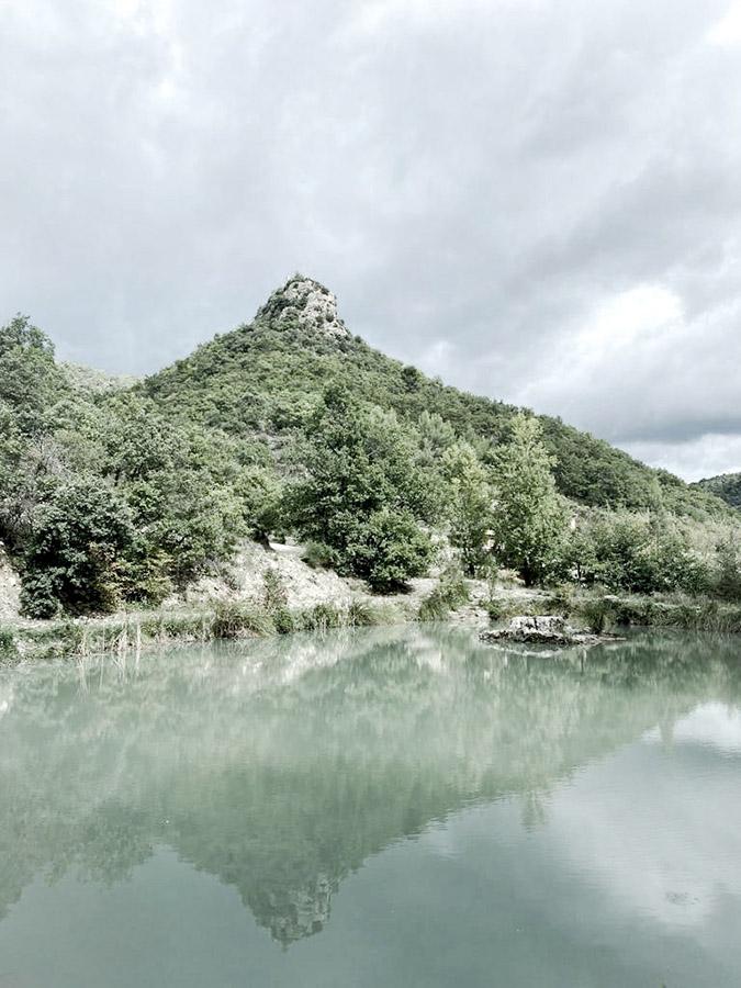 l'étang du moulin en drôme provençale