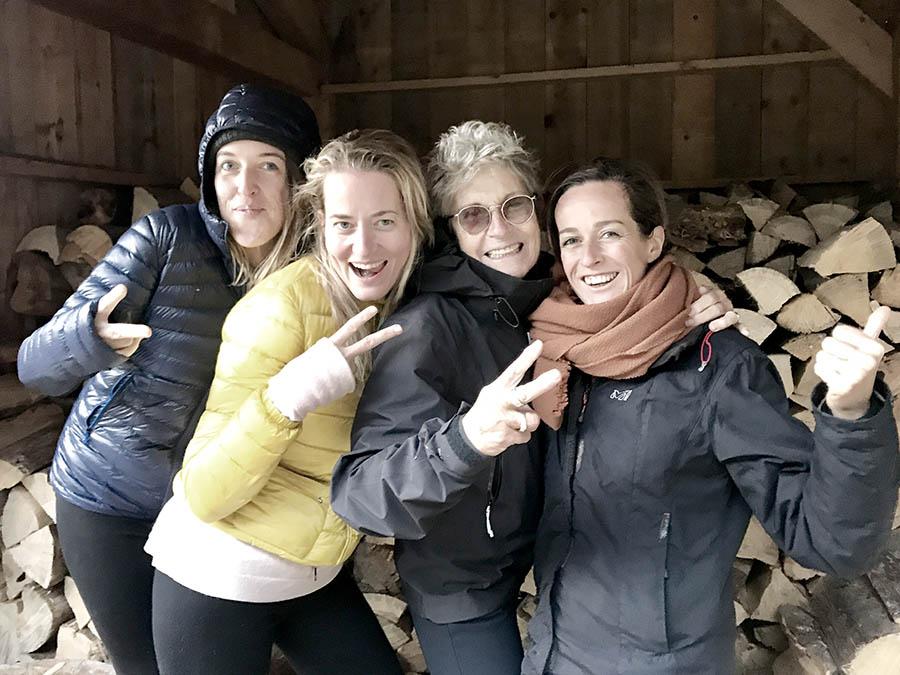 groupe séjour retour aux sources en cabane en haute savoie par wacohe