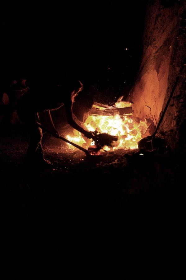 hutte de sudation lors du séjour rando botanique en bivouac par Wacohe