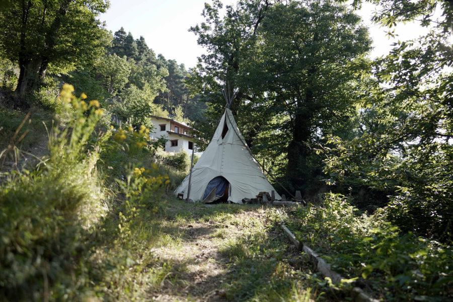 Lieu d'exception en pleine nature dans la vallée des merveilles séjour botanique avec wacohe