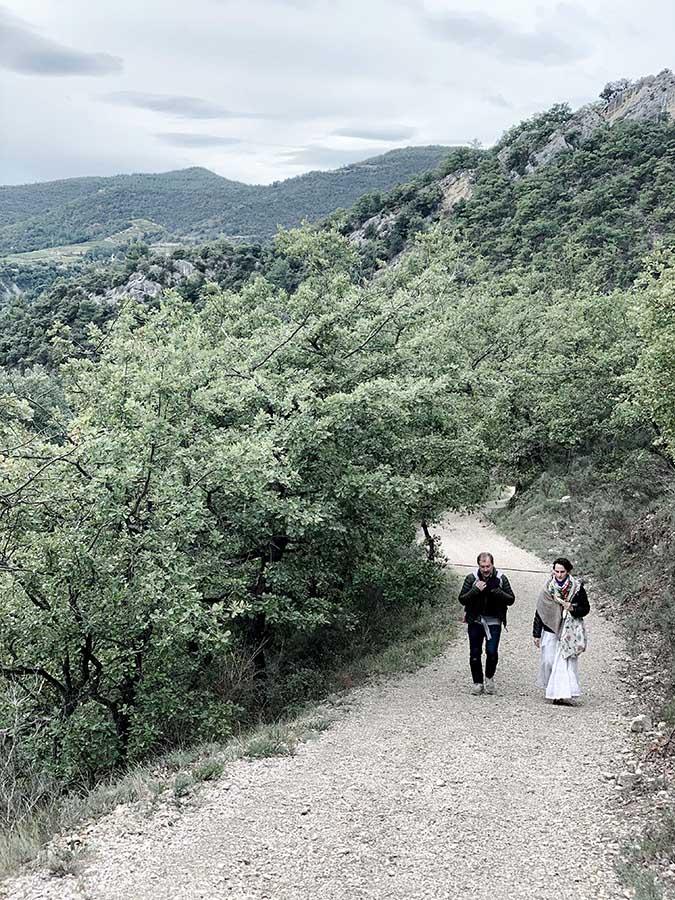 se reconnecter au vivant à la nature et à soi en drôme provençale avec wacohe