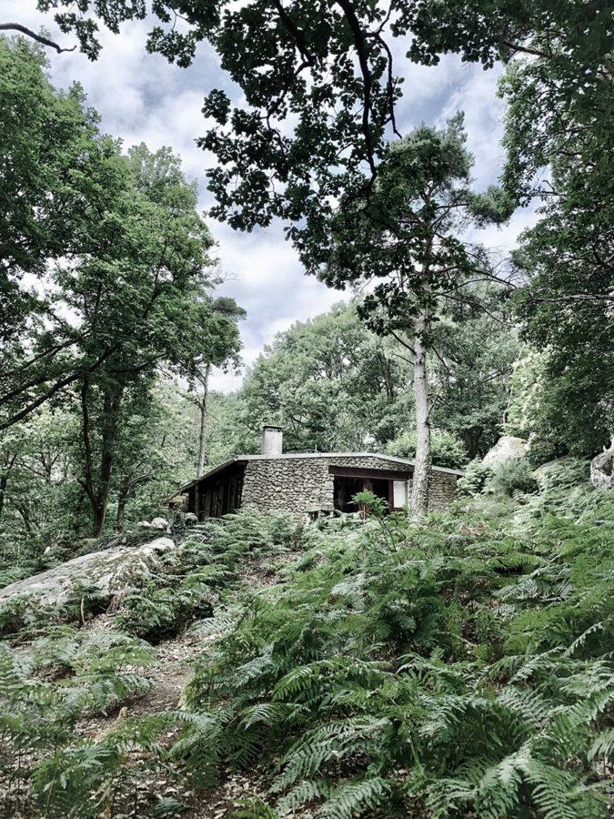 Cabane en pleine forêt tout près de Paris près de la forêt de Fontainebleau pour les séjours wacohe